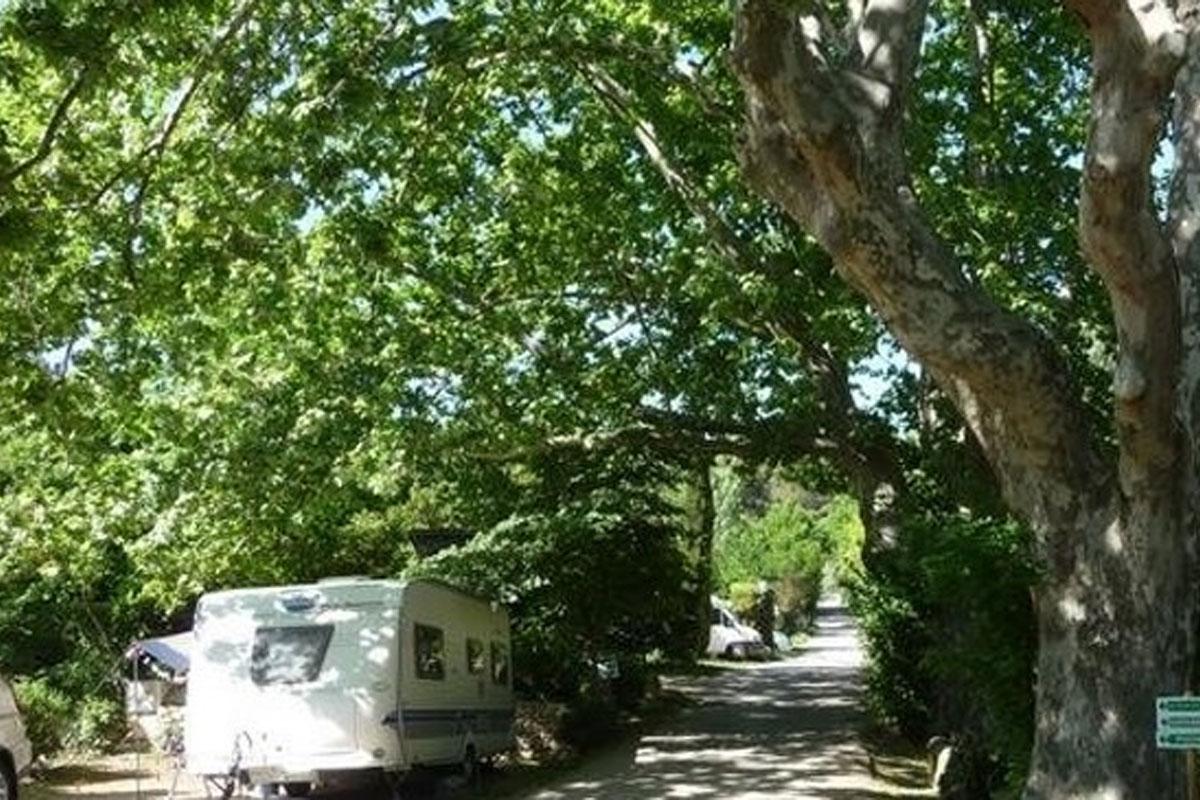 Aire de camping car Aix en Provence