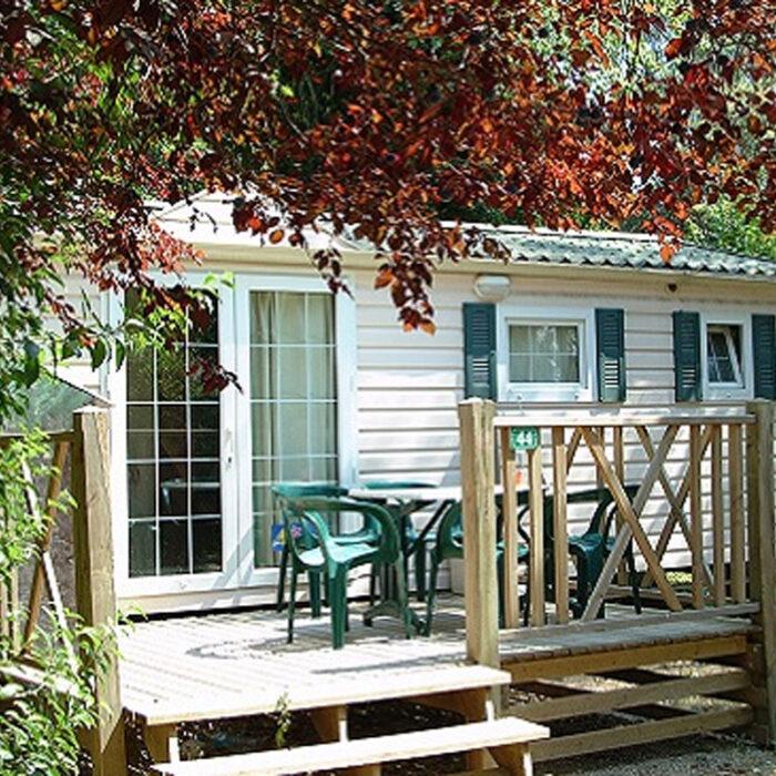 Location mobile home a Aix en Provence au camping Chantecler à l'année
