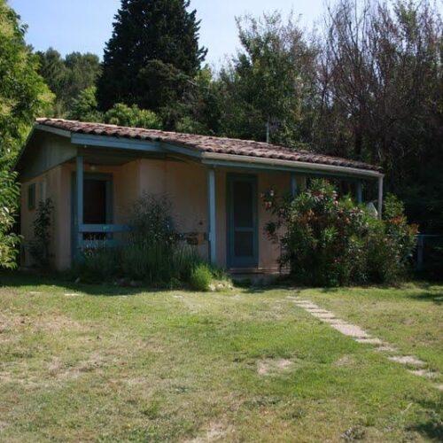 Location Chalet Cottage 717 - 2 personnes - Studio de vacances - Camping Chantecler ★★★★ Aix en Provence (Sud de la France)