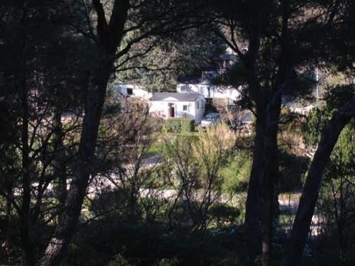 Mobil Home Solo - vue extérieure - Camping Chantecler ★★★★ Aix en Provence (Sud de la France)