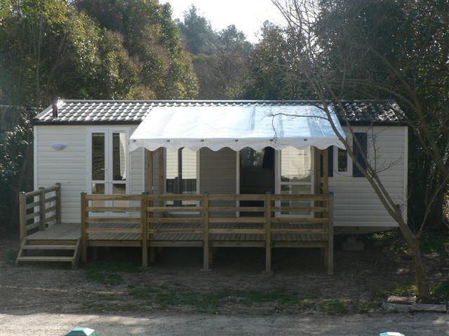 Location Mobil Home Luxe 33 - Camping Chantecler ★★★★ Aix en Provence (Sud de la France)