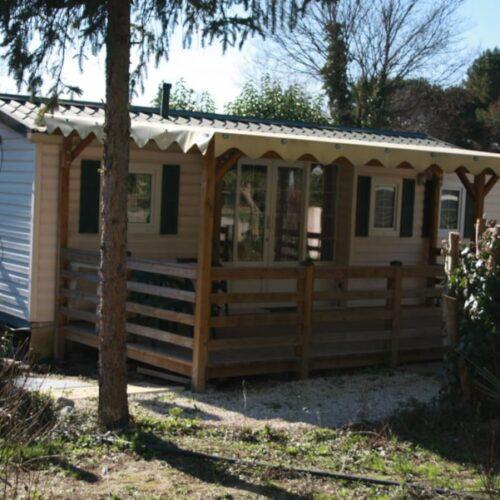 Location Mobil Home Miel - 4 personnes - 3 chambres - Camping Chantecler ★★★★ Aix en Provence (Sud de la France)
