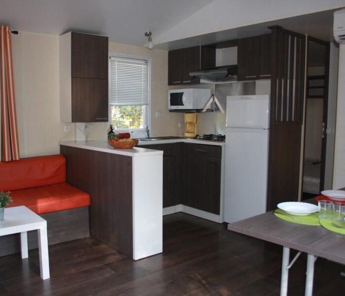 Location Mobil Home Privilège - 6 personnes - 3 chambres - Camping Chantecler ★★★★ Aix en Provence (13)