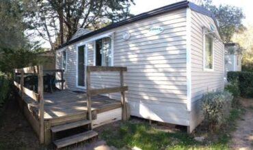 Location Mobil Home Standard - 4 personnes - 2 chambres - Camping Chantecler ★★★★ Aix en Provence (Sud de la France)