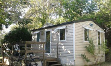 Mobil Home Solo - 1 chambre - 2 personnes - Camping Chantecler ★★★★ Aix en Provence (Sud de la France)